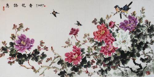 《鸟语花香》