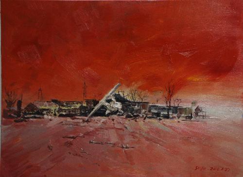 红色风景之一