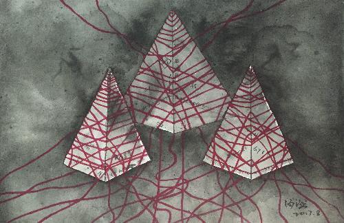 紅繩系列之錐形二