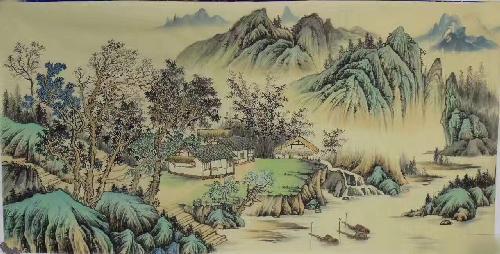 岭上松风图3