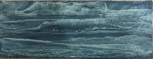 冰山与河流