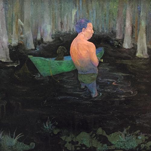 湖中的寂寞