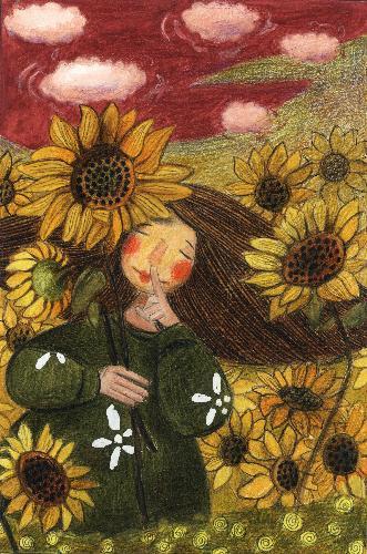 《盛夏—向阳花》