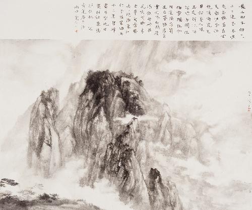 黄山玉屏峰