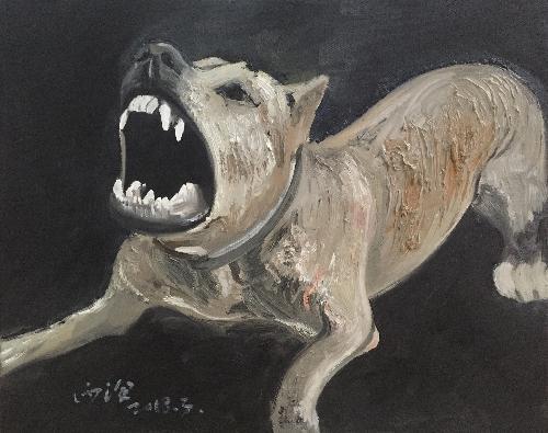 动物的习作—野狗