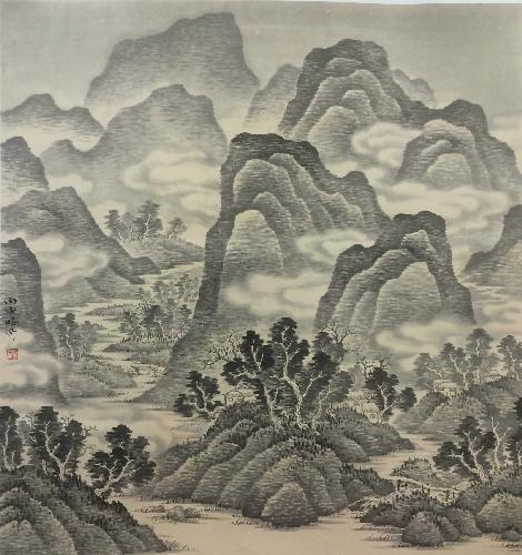 云横秀岭图.3