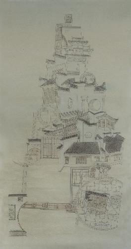 浮绘中国-徽派建筑