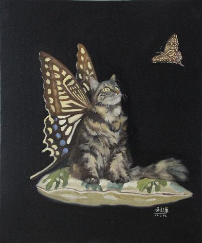 一只猫的幻想