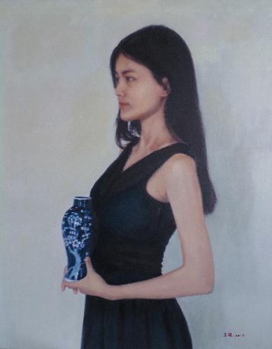 少女系列-青花瓷
