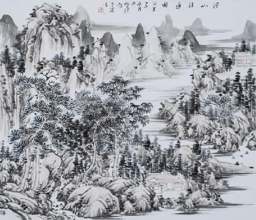 溪山清远图