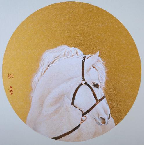 剪影——白驹