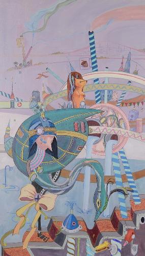 朋克山海装饰画