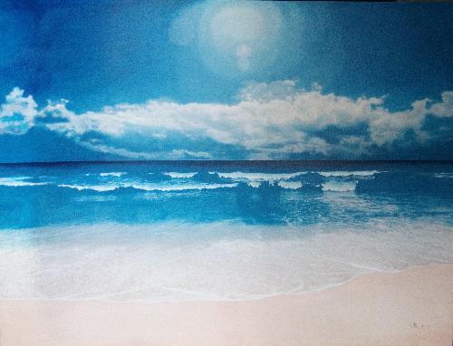 深蓝系列-海滩