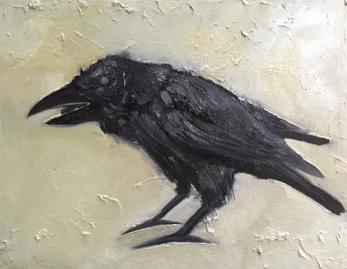 动物的习作—乌鸦