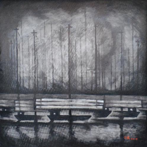深蓝系列-黑帆