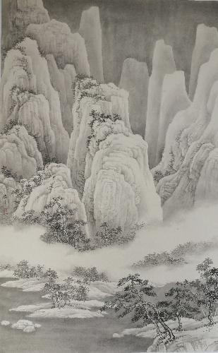 《寒江雪霁图》
