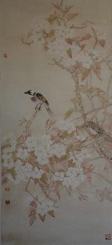 花鸟条屏2